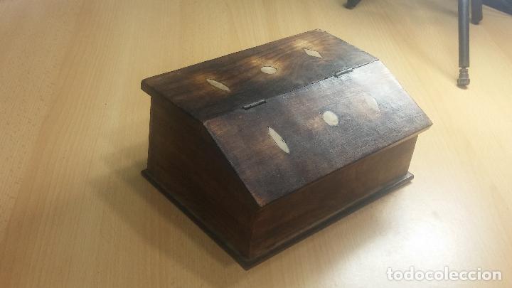 Herramientas de relojes: Botita caja relojera con gran cantidad de artículos para relojes antiguos - Foto 4 - 115590259