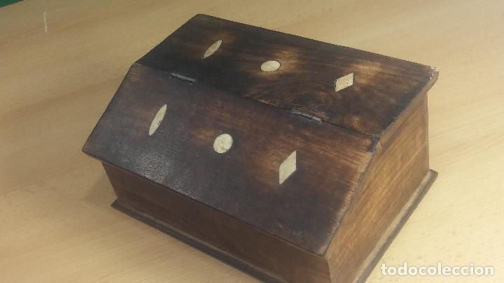 Herramientas de relojes: Botita caja relojera con gran cantidad de artículos para relojes antiguos - Foto 7 - 115590259