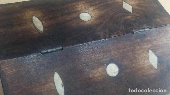 Herramientas de relojes: Botita caja relojera con gran cantidad de artículos para relojes antiguos - Foto 12 - 115590259