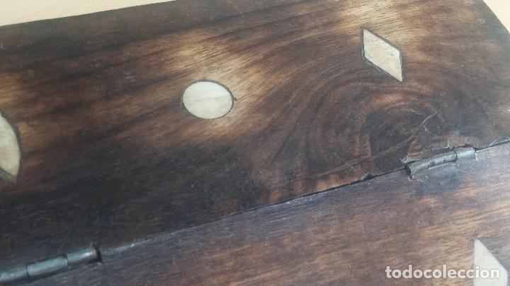 Herramientas de relojes: Botita caja relojera con gran cantidad de artículos para relojes antiguos - Foto 13 - 115590259