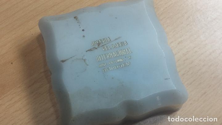 Herramientas de relojes: Botita caja relojera con gran cantidad de artículos para relojes antiguos - Foto 47 - 115590259