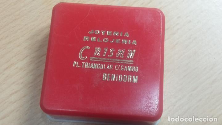 Herramientas de relojes: Botita caja relojera con gran cantidad de artículos para relojes antiguos - Foto 122 - 115590259