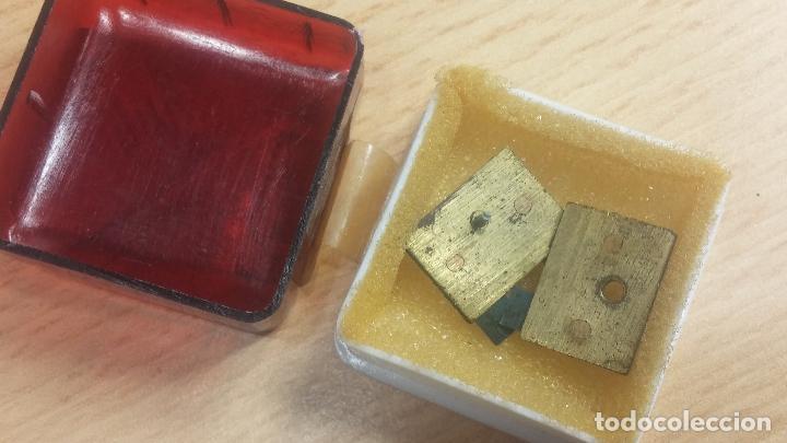 Herramientas de relojes: Botita caja relojera con gran cantidad de artículos para relojes antiguos - Foto 126 - 115590259