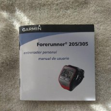 Herramientas de relojes: MANUAL DE INSTRUCCIONES GARMIN FORERUNNER 205/305. Lote 116960231