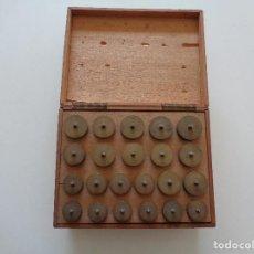 Herramientas de relojes: UTILES PARA TORNO DE RELOJERO. Lote 117280559