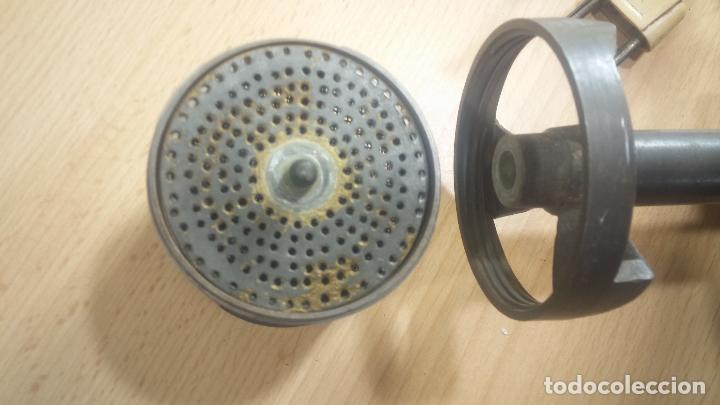 Herramientas de relojes: Aparato de lavar maquinarias de relojes, de antiguo taller de relojería, funcionando perfecta. - Foto 29 - 117398871