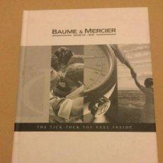 Herramientas de relojes: CATALOGO RELOJES BAUME & MERCIER GENEVE 2004. Lote 118503455