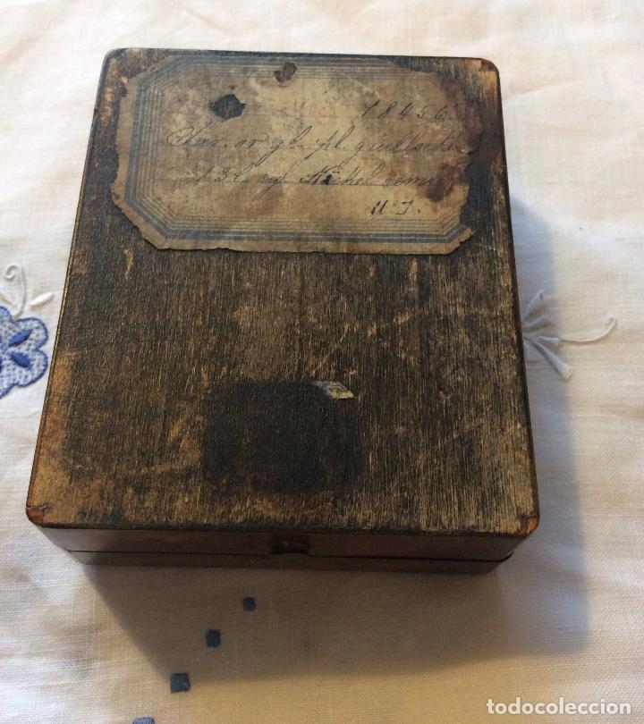Herramientas de relojes: RELOJERA FRANCESA FINALES DEL SIGLO XIX,IDEAL COLECCIONISTAS - Foto 3 - 118735075