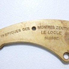 Herramientas de relojes: PEQUEÑA PIEZA DE MAQUINARIA DE RELOJ ANTIGUO ZENITH. Lote 118825859