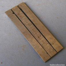 Herramientas de relojes: UTIL DE RELOJERO - CALIBRADOR DE PIÑON 200/360 (6X2,4CM APROX). Lote 119978947