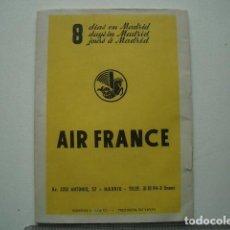 Herramientas de relojes: PUBLICIDAD PATEK PHILIPPE DE AIR FRANCE. Lote 121198547