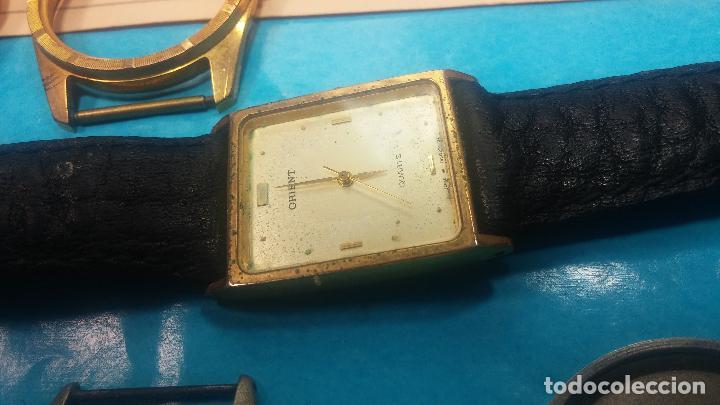 Herramientas de relojes: BOTITO LOTE RELOJERO, TAPAS CYMA, CAJAS CHAPADAS NUEVAS, CUERDAS, RELOJES AVERIADOS, ETC - Foto 13 - 121527983
