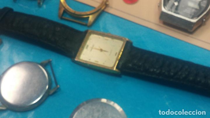 Herramientas de relojes: BOTITO LOTE RELOJERO, TAPAS CYMA, CAJAS CHAPADAS NUEVAS, CUERDAS, RELOJES AVERIADOS, ETC - Foto 36 - 121527983