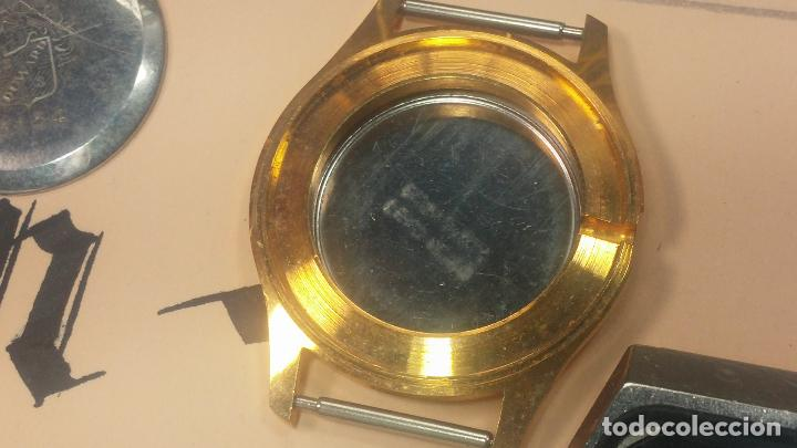 Herramientas de relojes: BOTITO LOTE RELOJERO, TAPAS CYMA, CAJAS CHAPADAS NUEVAS, CUERDAS, RELOJES AVERIADOS, ETC - Foto 45 - 121527983