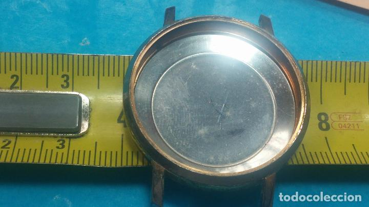 Herramientas de relojes: BOTITO LOTE RELOJERO, TAPAS CYMA, CAJAS CHAPADAS NUEVAS, CUERDAS, RELOJES AVERIADOS, ETC - Foto 65 - 121527983