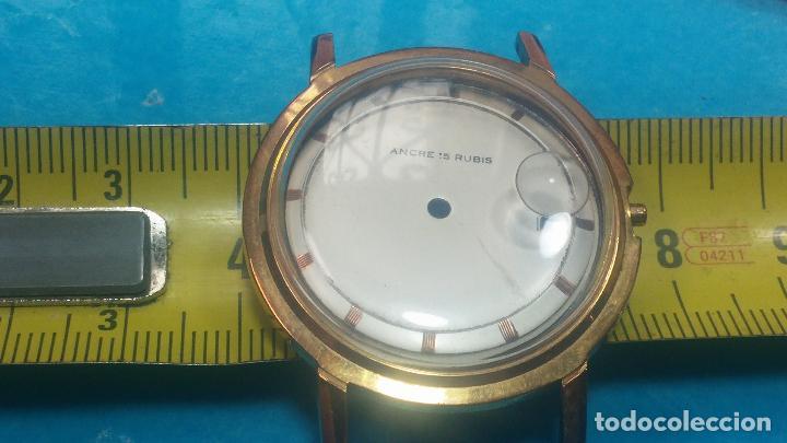Herramientas de relojes: BOTITO LOTE RELOJERO, TAPAS CYMA, CAJAS CHAPADAS NUEVAS, CUERDAS, RELOJES AVERIADOS, ETC - Foto 66 - 121527983
