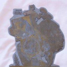 Herramientas de relojes: PLANCHA DE IMPRENTA GRANDE RELOJ ERNEST BOREL SUIZA ANTIGUA. Lote 121547719