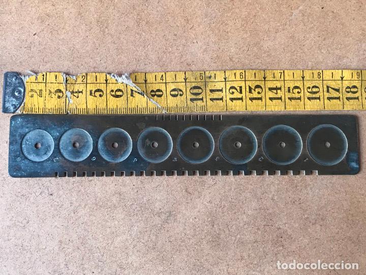 Herramientas de relojes: Plantilla o banquillo para relojes lepine? ver marcajes - herramiento relojero relojeria - Foto 5 - 122708031