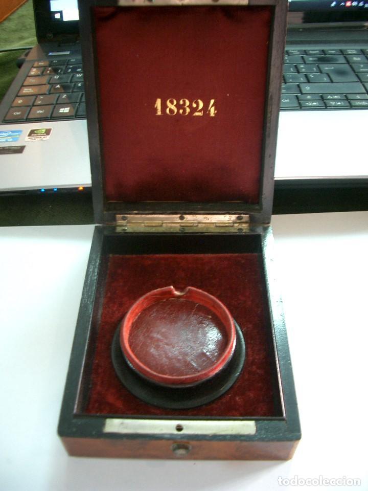 Herramientas de relojes: Relojera para reloj de bolsillo. ca4 - Foto 3 - 122761323