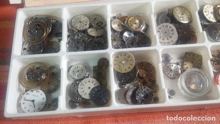Herramientas de relojes: BOTITO Y VARIADO LOTE DE RELOJ, RELOJES, MAQUINAS, ESFERAS Y PIEZAS SUELTAS PARA RELOJ ANTIGUO - Foto 5 - 124338623