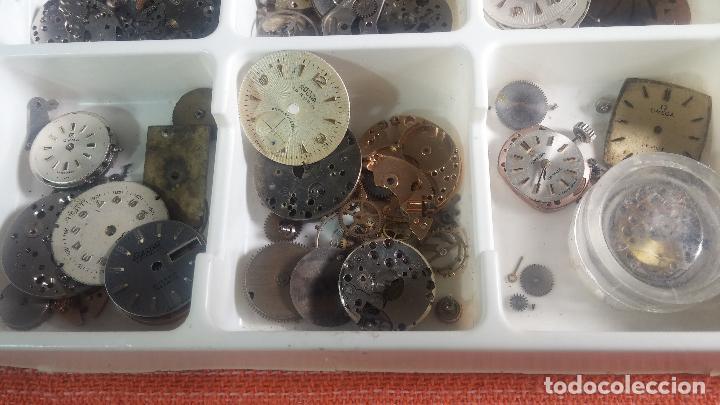 Herramientas de relojes: BOTITO Y VARIADO LOTE DE RELOJ, RELOJES, MAQUINAS, ESFERAS Y PIEZAS SUELTAS PARA RELOJ ANTIGUO - Foto 9 - 124338623