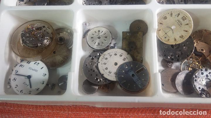 Herramientas de relojes: BOTITO Y VARIADO LOTE DE RELOJ, RELOJES, MAQUINAS, ESFERAS Y PIEZAS SUELTAS PARA RELOJ ANTIGUO - Foto 10 - 124338623
