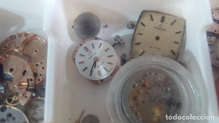Herramientas de relojes: BOTITO Y VARIADO LOTE DE RELOJ, RELOJES, MAQUINAS, ESFERAS Y PIEZAS SUELTAS PARA RELOJ ANTIGUO - Foto 20 - 124338623