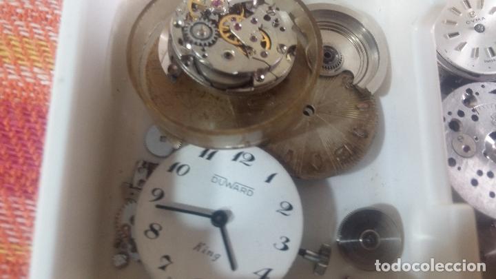 Herramientas de relojes: BOTITO Y VARIADO LOTE DE RELOJ, RELOJES, MAQUINAS, ESFERAS Y PIEZAS SUELTAS PARA RELOJ ANTIGUO - Foto 24 - 124338623
