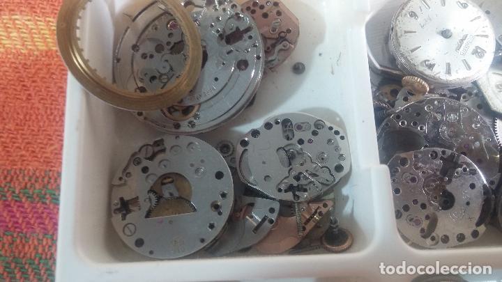 Herramientas de relojes: BOTITO Y VARIADO LOTE DE RELOJ, RELOJES, MAQUINAS, ESFERAS Y PIEZAS SUELTAS PARA RELOJ ANTIGUO - Foto 25 - 124338623