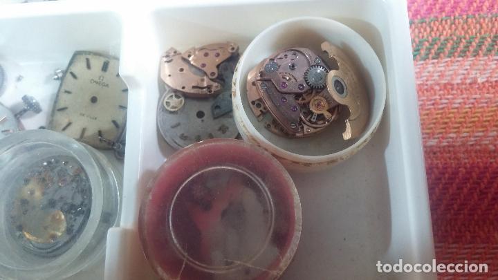 Herramientas de relojes: BOTITO Y VARIADO LOTE DE RELOJ, RELOJES, MAQUINAS, ESFERAS Y PIEZAS SUELTAS PARA RELOJ ANTIGUO - Foto 34 - 124338623