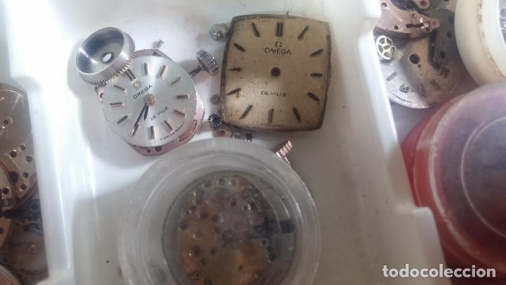 Herramientas de relojes: BOTITO Y VARIADO LOTE DE RELOJ, RELOJES, MAQUINAS, ESFERAS Y PIEZAS SUELTAS PARA RELOJ ANTIGUO - Foto 35 - 124338623