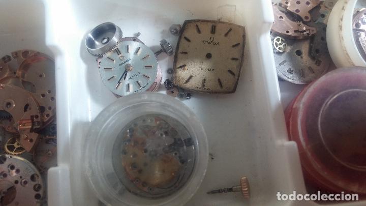 Herramientas de relojes: BOTITO Y VARIADO LOTE DE RELOJ, RELOJES, MAQUINAS, ESFERAS Y PIEZAS SUELTAS PARA RELOJ ANTIGUO - Foto 36 - 124338623