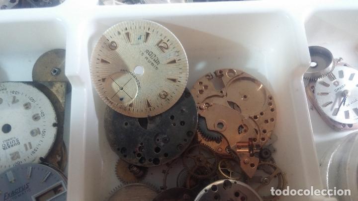 Herramientas de relojes: BOTITO Y VARIADO LOTE DE RELOJ, RELOJES, MAQUINAS, ESFERAS Y PIEZAS SUELTAS PARA RELOJ ANTIGUO - Foto 39 - 124338623