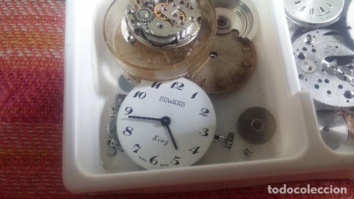 Herramientas de relojes: BOTITO Y VARIADO LOTE DE RELOJ, RELOJES, MAQUINAS, ESFERAS Y PIEZAS SUELTAS PARA RELOJ ANTIGUO - Foto 41 - 124338623