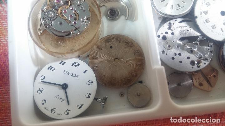 Herramientas de relojes: BOTITO Y VARIADO LOTE DE RELOJ, RELOJES, MAQUINAS, ESFERAS Y PIEZAS SUELTAS PARA RELOJ ANTIGUO - Foto 42 - 124338623