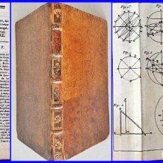 Herramientas de relojes: AÑO 1744: GNOMÓNICA: EL ARTE DE DISEÑAR, CALCULAR Y TRAZAR RELOJES DE SOL. MUY RARO. DESPLEGABLES.. Lote 126517407