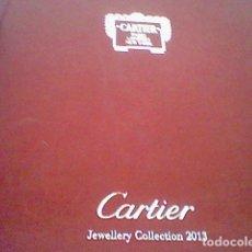 Herramientas de relojes: CARTIER JEWELLERY COLLECTION 2013 CATALOGO JOYERIA EN ITALIANO LEER. Lote 127836987