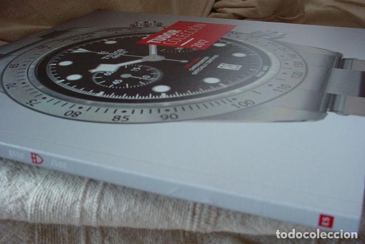 Herramientas de relojes: Revista Coleccion Relojes Tudor 2017 - Foto 2 - 200012956