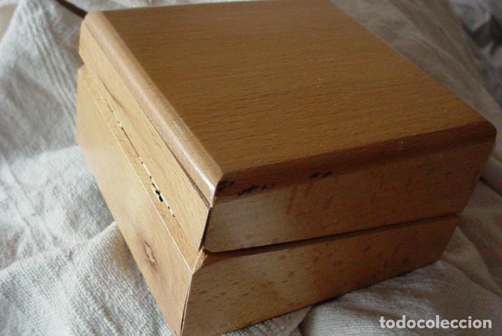 Herramientas de relojes: Caja expositor e madera reloj Jaguar - Foto 3 - 132164098