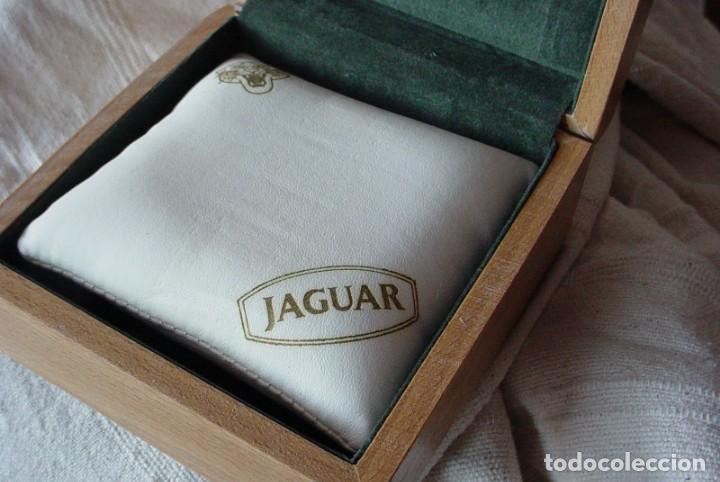 Herramientas de relojes: Caja expositor e madera reloj Jaguar - Foto 6 - 132164098