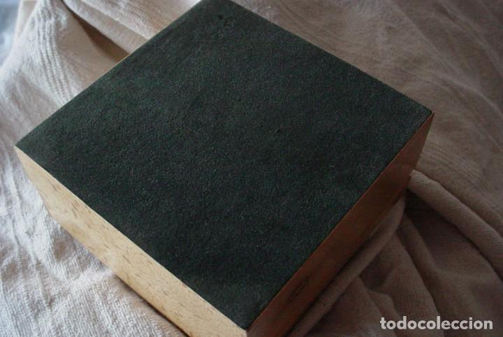 Herramientas de relojes: Caja expositor e madera reloj Jaguar - Foto 7 - 132164098