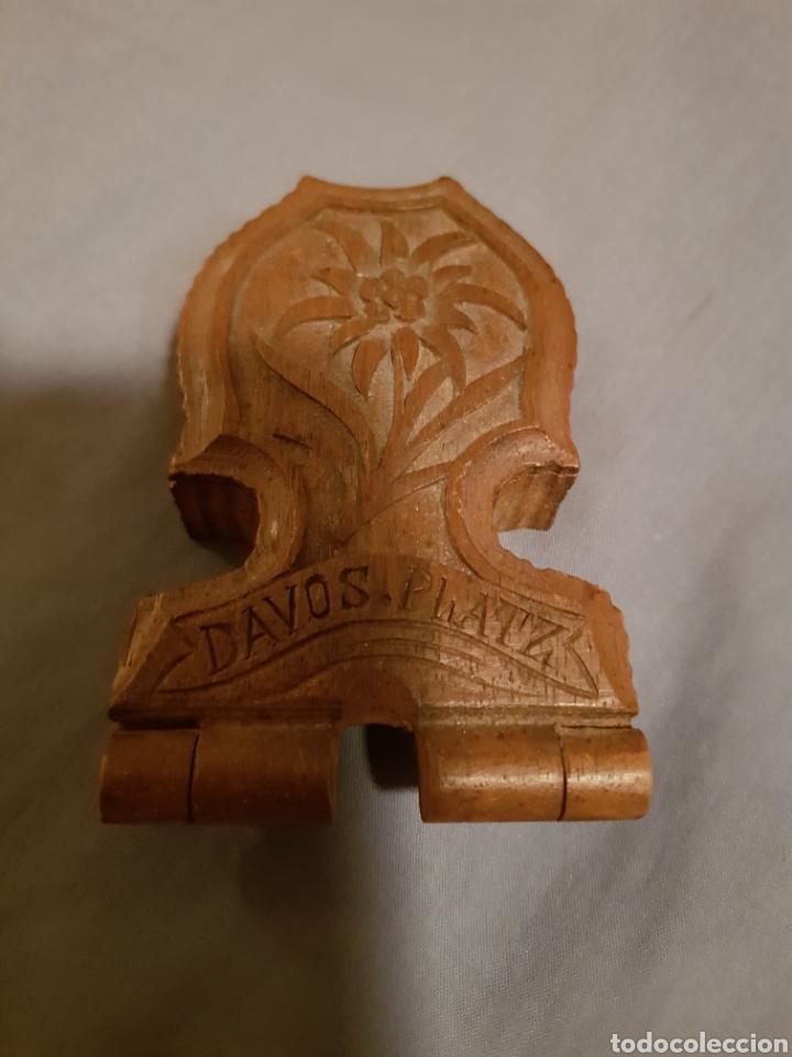 Herramientas de relojes: Relojera de reloj de bolsillo en madera - Foto 3 - 132180618