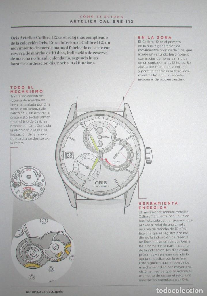 Herramientas de relojes: CATÁLOGO OFICIAL DE RELOJES ORIS 2016 / 2017. EDICIÓN NO VENAL SÓLO PARA RELOJERÍAS. - Foto 5 - 132355638