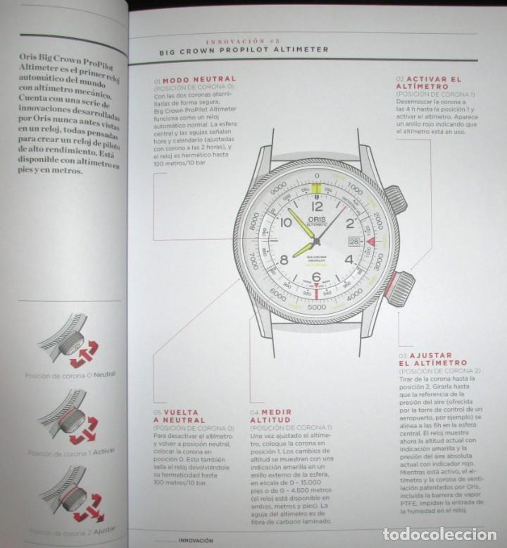 Herramientas de relojes: CATÁLOGO OFICIAL DE RELOJES ORIS 2016 / 2017. EDICIÓN NO VENAL SÓLO PARA RELOJERÍAS. - Foto 7 - 132355638