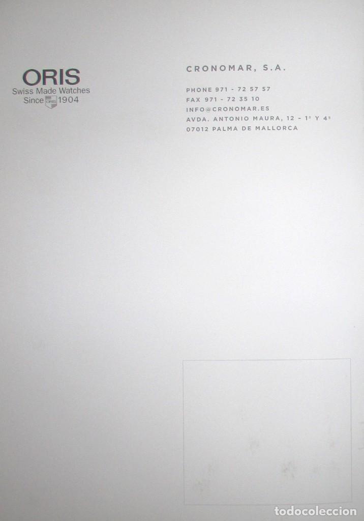 Herramientas de relojes: CATÁLOGO OFICIAL DE RELOJES ORIS 2016 / 2017. EDICIÓN NO VENAL SÓLO PARA RELOJERÍAS. - Foto 21 - 132355638