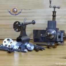 Watchmaker tools: ,,,BOLEY,,,CARRO DE PRECISION Y CONTRAPUNTO CON UTILES PARA TALADRAR,,,. Lote 132499486