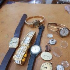 Herramientas de relojes: LOTE DE RELOJES Y MÁQUINAS. Lote 134402170