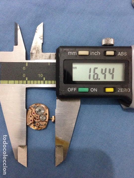 Herramientas de relojes: Lote maquinaria reloj Omega zenith - Foto 7 - 139895974
