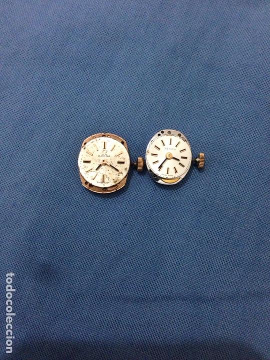 Herramientas de relojes: Lote maquinaria reloj Omega zenith - Foto 9 - 139895974