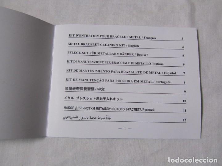 Herramientas de relojes: Kit de mantenimiento para pulsera metálica de reloj Cartier - Foto 4 - 141239070
